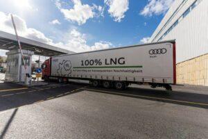 Camion GNL Audi
