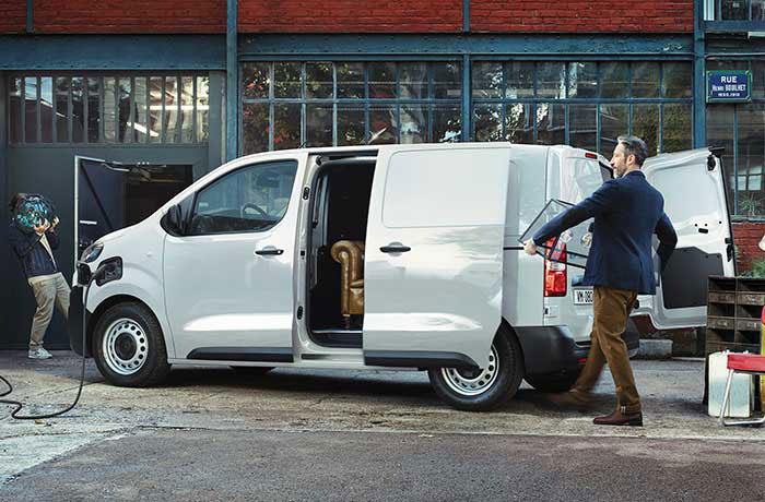 Citroën ë-Jumpy 100 % électrique