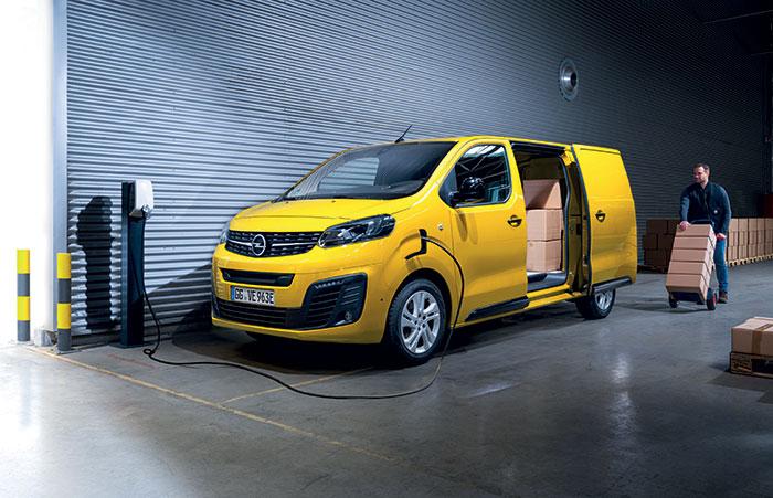 Marché VUL 2020 - Opel Vivaro-e