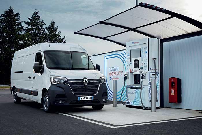 Marché VUL 2020 - Renault Master Z.E. Hydrogen