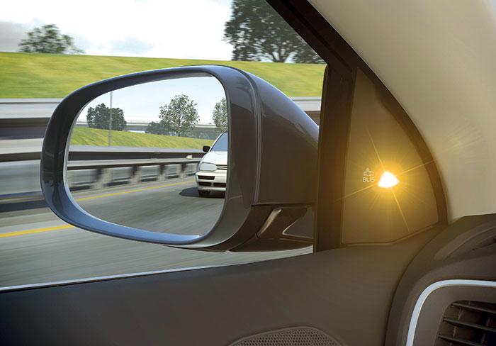 Aides à la conduite - Surveillance angle mort