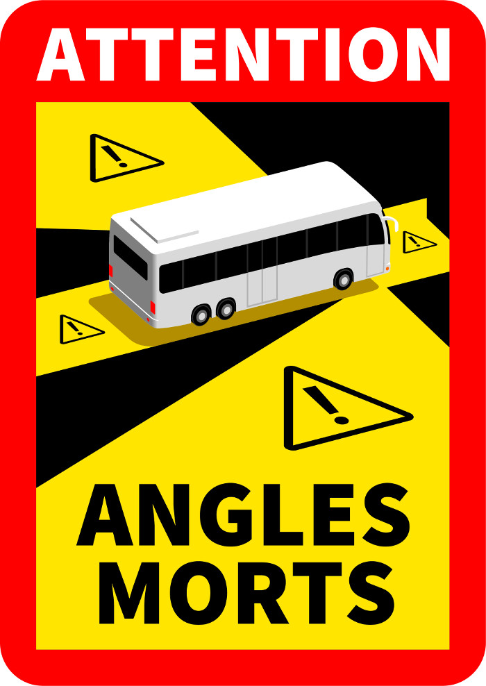 Poids lourds angles morts