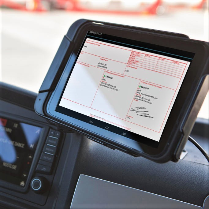 Transports Cordier e-CMR