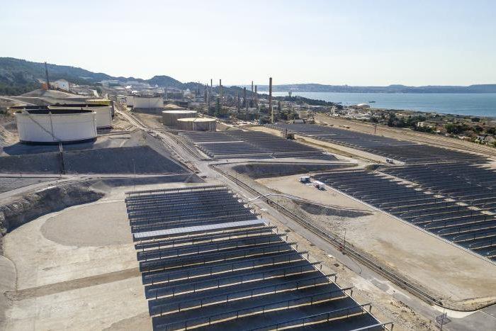 ferme solaire Total