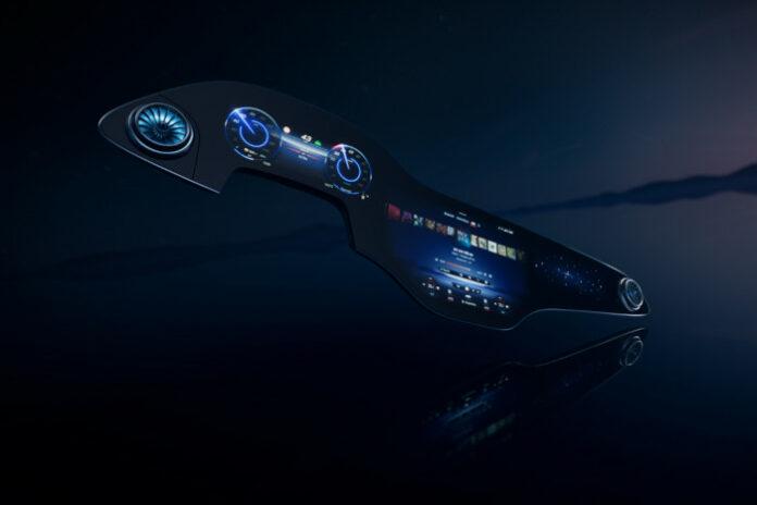 Mercedes EQ Hyperscreen MBUX