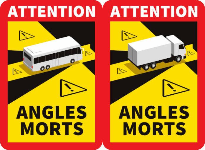Signalisation angles morts