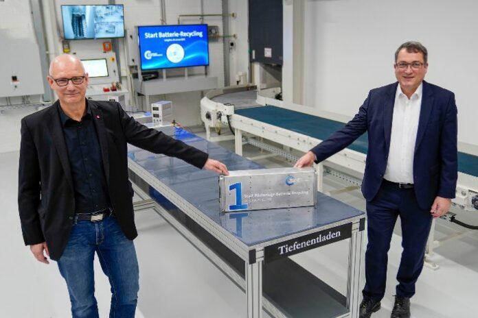 Volkswagen recyclage batterie
