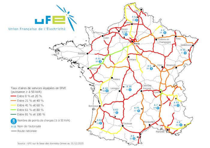 autoroutes françaises