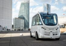 Navya Bluebus bus autonome