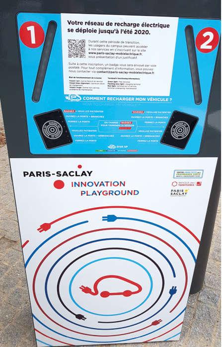 EPA Paris-Saclay Borne recharge