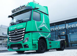 Daimler Trucks électromobilité