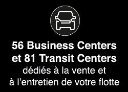 56 Business Centers et 81 Transit Centers
