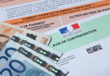 avis de contravention