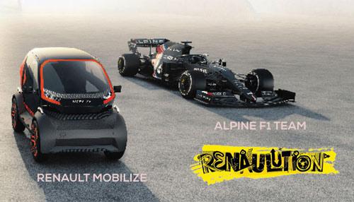 Renault Mobilize et Alpine F1 Team