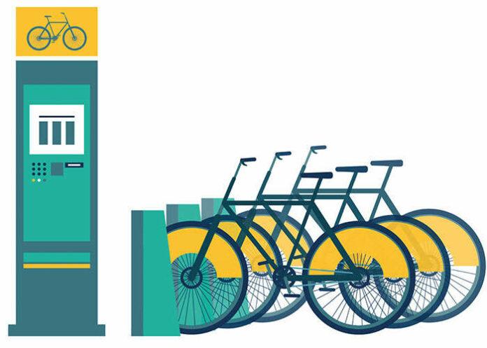 Véhicules de fonction - Vélos partagés
