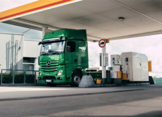 Mercedes Truck Wallet