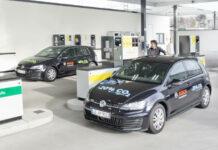Station-service Bosch - Avitaillement de véhicules roulant au R33 Blue Diesel et au diesel C.A.R.E.