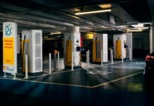 Hub de mobilité électrique de Shell à Paris