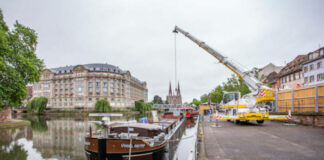 logistique fluviale Strasbourg