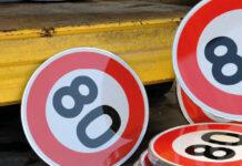 panneaux 80 km/h