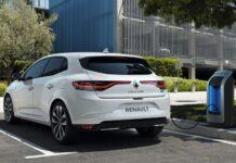 Renault Mégane berline E-Tech