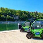 véhicules électriques autopartage Wesk