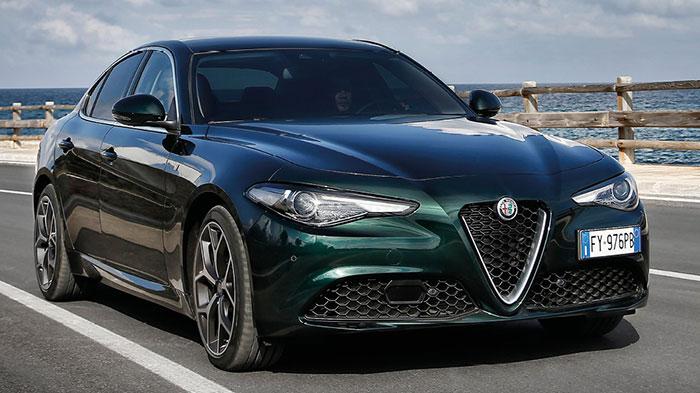 En essence, l'Alfa Romeo Giulia s'équipe notamment du 2.9 V6 de 510 ch/238 g à 88 900 euros. Ou, nettement plus raisonnable, du 2.0 turbo essence de 200 ch/184 g à 40 900 euros ou de 280 ch/195 g à 57 500 euros.
