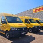 DHL flotte électrique