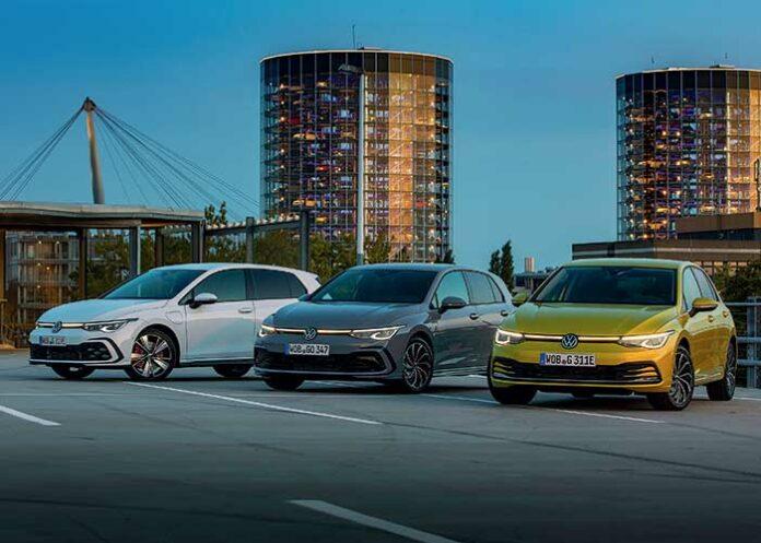 Nouvelles Volkswagen Golf GTE, Golf 1.5 eTSI et Golf eHybrid