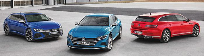 Volkswagen Arteon R Shooting Brake, Arteon eHybrid Elegance et Arteon Shooting Brake eHybrid R-Line