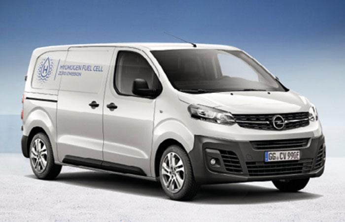 Opel e-Vivaro H2O à PAC à hydrogène