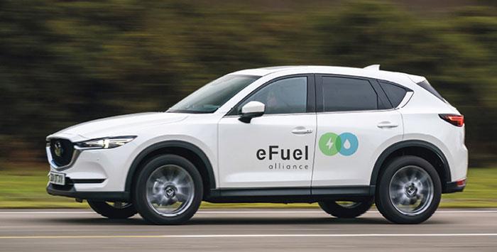Mazda et l'eFuelAlliance