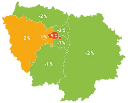 Baromètre réparation 2021 iDgarages.com - Zoom sur l'Île-de-France