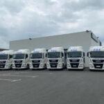 Flotte de Man TGX de France Distribution Express (FDE)