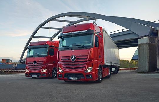 Mercedes-Benz Trucks Actros