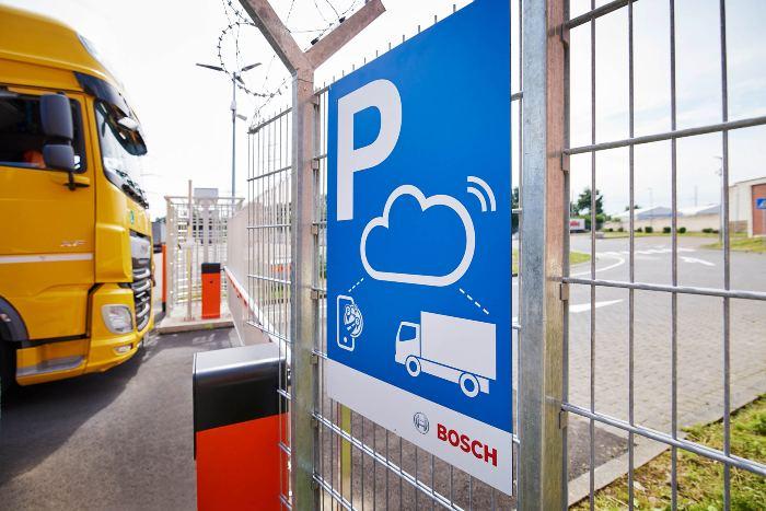 Bosch Secure Truck Parking