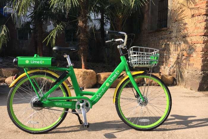 vélo Lime-E