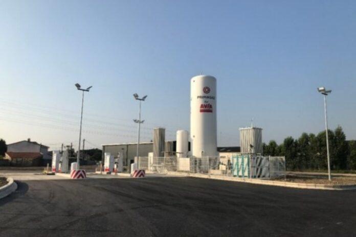 Primagaz station GNV