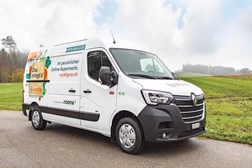 Renault Trucks Master Z.E. chez Migros