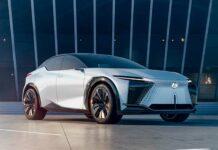 Concept car Lexus LF-Z Electrified