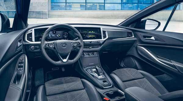 Intérieur Opel Grandland