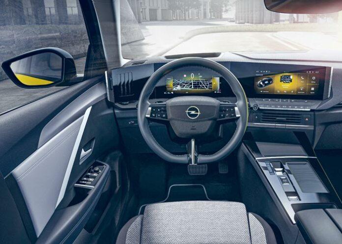 Nouveau cockpit numérique Opel Pure Pane