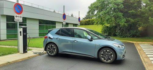 Volkswagen France bornes