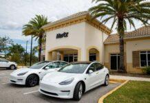 Tesla Hertz véhicules électriques
